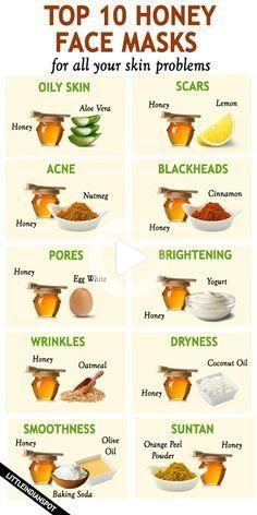 Honey has been used in many skin products. In this article you'll find the best honey face masks for all skins. Clear Skin Face, Face Skin Care, Clear Face Tips, Baking Soda And Honey, Honey For Acne, Beauty Tips For Glowing Skin, Beauty Skin, Face Beauty, Baking Soda Shampoo