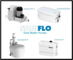 SANIFLO offers a range of powerful and economical grey water pumps for various residential and commercial applications. With silent technology and modern design, the SANIFLO range offers unprecedented performance and features. Drainage, Drain Pump, Kitchen Installation, Laundry Room, Modern Design, Sink, Shower, Commercial, Grey