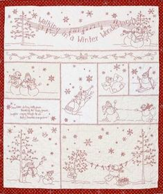 Winter Wonderland - Crabapple Hill Studios- Patchwork PatternSECONDARY_SECTION$36.00: Fabric Patch: Patchwork Quilting fabrics, Moda fabric, Quilt Supplies,�Patterns