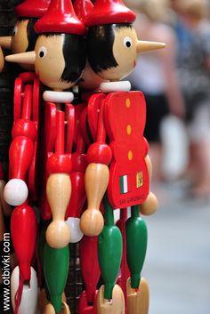So many liars...Parco de Pinocchio