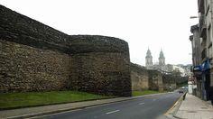 Lugo: Muralla romana e catedral
