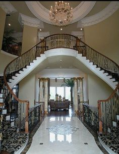 Luxury House Decor!! This is so cool and luxurious!! | House Ideas ...