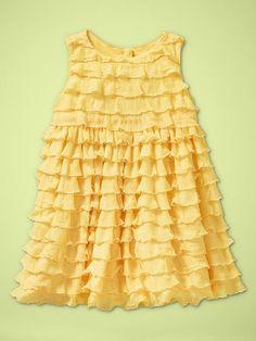 inspiration for ruffle dress