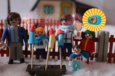 PLAYMOBIL Film deutsch SILVESTER bei Familie Bauer