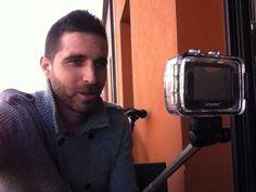 Todo listo para grabar videos! Síguenos en #youtube #estoyenel2 #estefaniaysergio