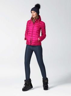 DOWN SECOND LAYER FABIA in Pink / Purple for Women | BOGNER USA