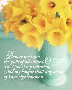 Psalm 51:14