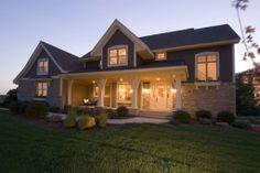 Houseplans.com Plan #56-597 Front Elevation