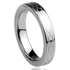 Amazon.com: 4MM Tungsten Carbide Comfort Fit Wedding Band Ring Celtic Knot Engraved Ring ( Size 5 to 11): Jewelry