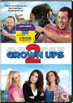 Grown Ups 2 [DVD] [2013]: Amazon.co.uk: Adam Sandler, Kevin James, Chris Rock, Dennis Dugan: Film & TV