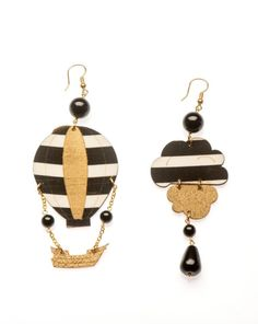 Earrings by Barbara and Nicolette Lebole. Photo: Courtesy Museum of Art and Design.
