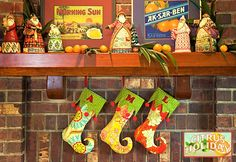 Citrus Holiday: Elf Stockings