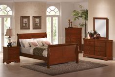 Nice Cherry Bedroom Furniture For Awesome Master Bedroom   Office Furniture