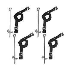 Heavy Duty Galvanized Trampoline Anchor Peg Kit / Tie Down Kit, Fits all Trampolines. Ground Camp Swings, Garden Sheds, Play Sets and much more Tent Fish UK (Normal) - Garden Rattan Furniture Jumpking Trampoline, Trampolines, Garden Shed Kits, Garden Tools, Trampoline Accessories, Fishing Uk, Backyard Toys, Outdoor Play Spaces