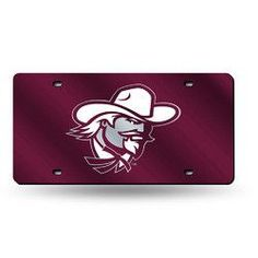 Eastern Kentucky Colonels NCAA Laser Cut License Plate Tag
