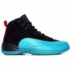 46c0263a6e5 Buy 2015 New Air Jordan 12 Gamma Blue (Black Varsity Red-Gamma Blue-White)  Shoes…