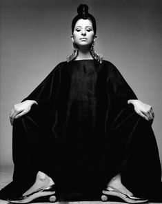 Richard Avedon :: Portrait of Barbra Streisand, 1970