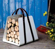 Woodbag firewood holder