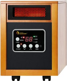 Dr Infrared Heater Portable Space Heater, 1500-Watt Portable Electric Heaters, Portable Space Heater, Best Space Heater, Tower Heater, Infrared Heater, Living Room Decor Cozy, Heating And Cooling, Heating Systems, Home Kitchens