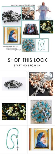 """""""Religious Art on Etsy by TerryTiles2014 - Volume 47"""" by terrytiles2014 on Polyvore featuring interior, interiors, interior design, Casa, home decor e interior decorating"""