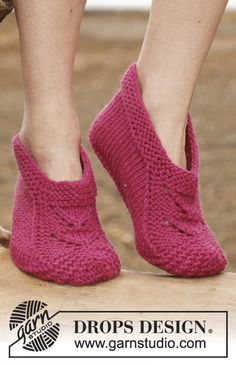 Pantufas DROPS em Big Fabel. Do 35 ao 43. ~ DROPS Design