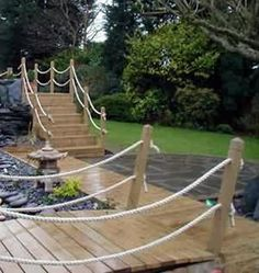 pictures of decking in gardens - Google Search