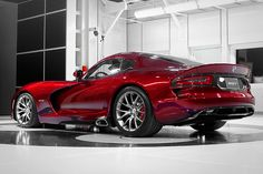 SRT Viper    Top Speed: 206 mph  Engine: 640 HP 8.4L V 10  MSRP: $100,000    The Dodge Viper was introduced in 1991. It stopped wearing the Dodge brand name and is now part of Chrysler's SRT performance division, but Brauer said that fans are elated at its return.