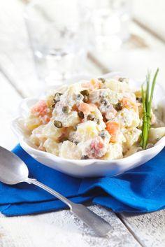 Inkiväärilohi-perunasalaatti | K-ruoka #uusivuosi