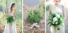 Arina B Photography | Alissa Saylor Photography/Stockroom Vintage | Let's Frolic Together/Sweet Marie Designs Fern Wedding Details | SouthBound Bride #fern #weddingtrends