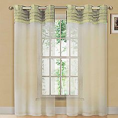 (One Panel Grommet Top) Victoria Classics Eastgate Curtain Single Panel | LightInTheBox