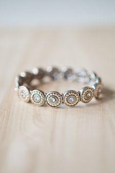 Cystal Circles Bracelet.. if only this was a ring!!