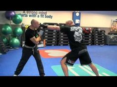 Paul training with Neil 'Goliath' Grove - part1