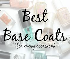 What is the best base coat for long-lasting wear? How about the best ridge filler? Treatment? I've got you covered!
