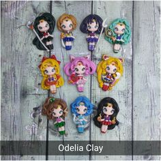 2d dolls clay, its about 50 mm talls.  Good for center bow and necklace  worldwide shipping
