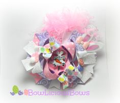 Easter Inspired Bow By BowLiciousBows
