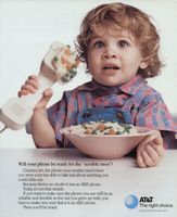 AT & T - Durable Phone 1989 Ad Picture
