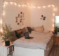 Girl Bedroom Designs, Room Ideas Bedroom, Home Bedroom, Girls Bedroom, Master Bedroom, Bedroom Inspo, Cute Bedroom Ideas For Teens, Cozy Teen Bedroom, Cute Teen Bedrooms