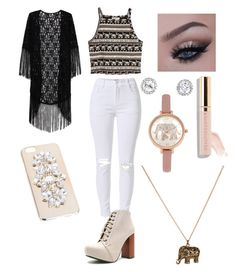 """Untitled #17"" by tabbytha-walsh ❤ liked on Polyvore featuring H&M, Qupid, Miss Selfridge and Accessorize"