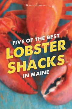 Devour this delicious seafood while traveling in Maine!