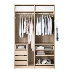 PAX Garderobekast - - - IKEA