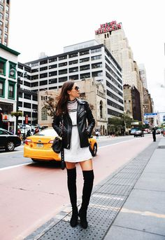 4 Ways To Wear Thigh High Boots This Winter — Bloglovin'—the Edit