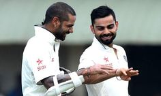 Dhawan, Kohli put India in command Read complete story click here http://www.thehansindia.com/posts/index/2015-08-13/Dhawan-Kohli-put-India-in-command-169790