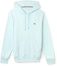 d5208cb1a7 Lacoste Men's Hooded Cotton Jersey Hoodie Lacoste Pour Hommes, Hottes