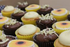 It was very hard to sell these on.our delicious cup cakes for the bake sale! Bake Sale, Cup Cakes, How To Raise Money, Mini Cupcakes, Charity, Baking, Desserts, Things To Sell, Food