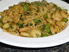 Shrimp Lomein with Shiritaki Noodles - Medifast / Take Shape For Life
