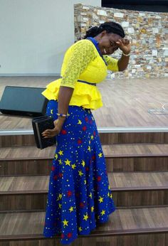 latest ankara skirt and blouse 25 Latest stylish and stunning ankara skirt and blouse to rock in 2019 African Dresses For Kids, African Wear Dresses, African Fashion Ankara, Latest African Fashion Dresses, Ghanaian Fashion, African Attire, African Blouses, Ankara Skirt And Blouse, Kente Styles