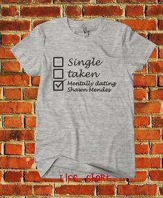 e8e2eef9e shawn mendes single taken mentally dating date shirt illuminate handwritten  #Unbranded #BasicTee Justin Bieber