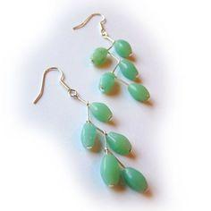 Jewelry Tutorial - DIY Dangle Branch Earrings for Beginner to Intermediate