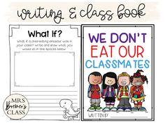 We Don't Eat Our Classmates book study companion activities to go with the story by Ryan T. Higgins. A fun back to school book! Your students will love this hilarious book about a dinosaur who tries to make friends...even when they are delicious! Packed with fun literacy ideas and guided reading activities. K-2 Common Core aligned. #bookstudy #bookstudies #bookcompanion #bookcompanions #backtoschool #picturebookactivities #kindergartenreading #1stgradereading #2ndgradereading #guidedreading Guided Reading Activities, Comprehension Activities, Vocabulary Activities, Back To School Activities, Literacy Skills, Writing Activities, 2nd Grade Reading, Kindergarten Reading, Back To School Pictures