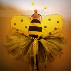 love this idea too...t will look cute as a bumble bee. we have to stuff for the tutu already!